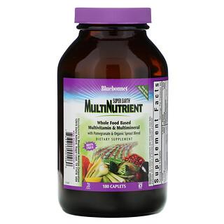 Bluebonnet Nutrition, Super Earth Multinutrient, Iron Free, 180 Caplets