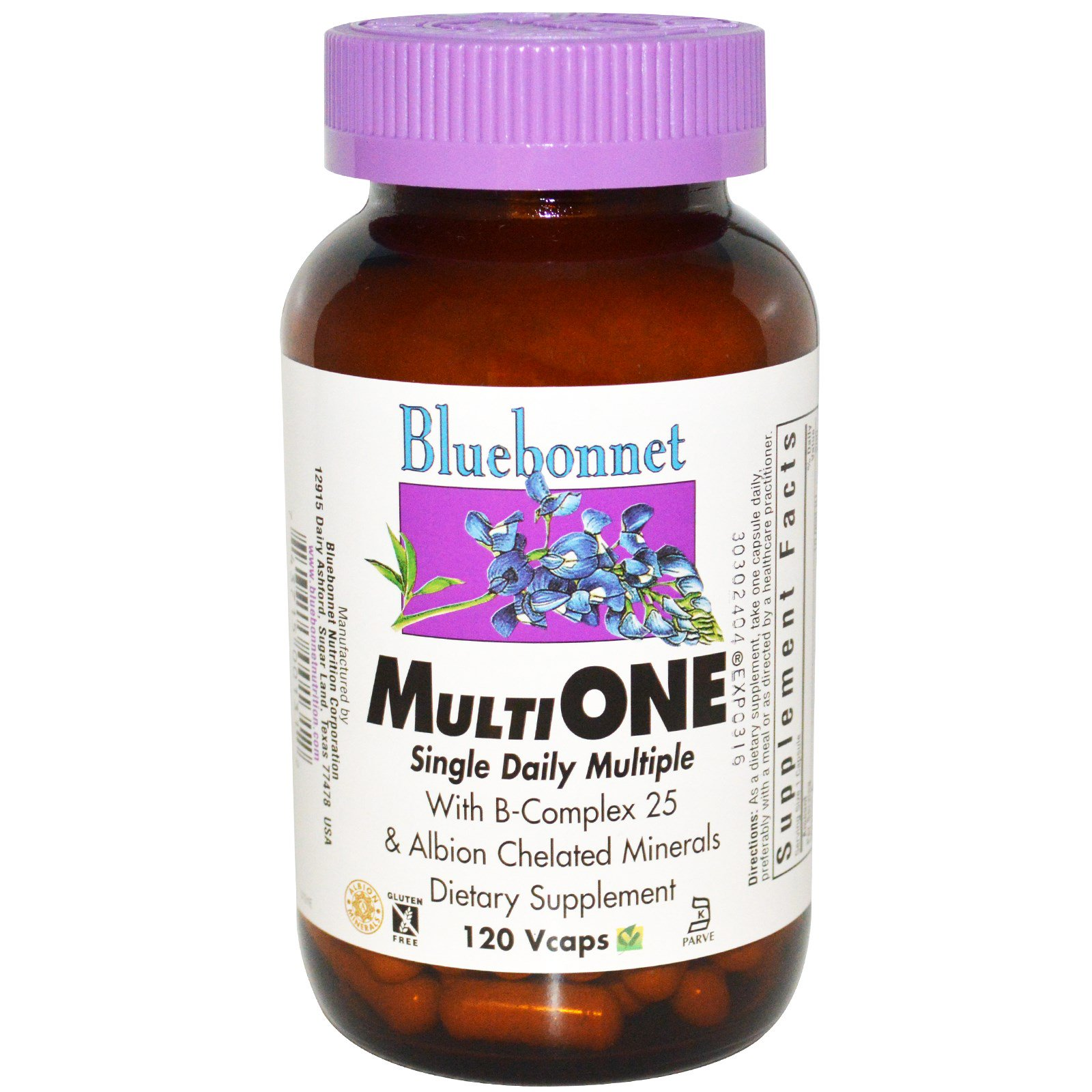Bluebonnet Nutrition, Multi One, Single
