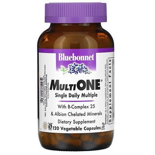 Bluebonnet Nutrition, MultiOne, Single Daily Multiple, 120 Vegetable Capsules