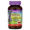 Bluebonnet Nutrition, Rainforest Animalz, Complete Daily Whole Food-Based Nutrition, Cherry Flavor, 180 Chewables