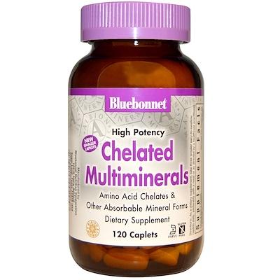 Хелатные мультиминералы высокой эффективности, 120 капсул