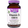 Bluebonnet Nutrition, Vitamin D3, 1000 IU, 180 Veggie Caps