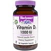 Bluebonnet Nutrition, 維他命D3, 1000 IU, 180植物膠囊