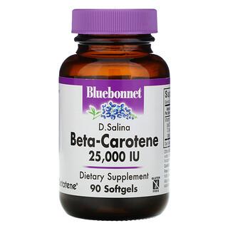 Bluebonnet Nutrition, Natural Beta-Carotene, 25,000 IU, 90 Softgels