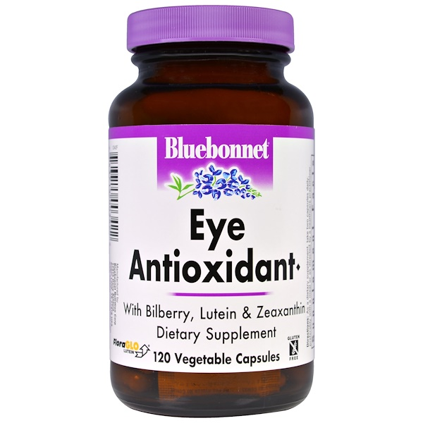 Bluebonnet Nutrition, Eye Antioxidant, 120 Veggie Caps