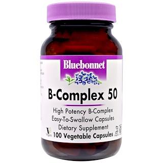 Bluebonnet Nutrition, B-Complex 50, 100 Veggie Caps
