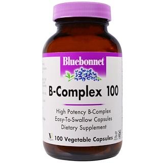 Bluebonnet Nutrition, B-Complex 100, 100 Veggie Caps
