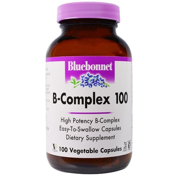 B-Complex 100, 100 Veggie Caps