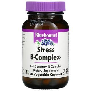 Bluebonnet Nutrition, Stress B-Complex, 50 Vegetable Capsules