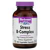 Bluebonnet Nutrition, Stress B-Complex، 100 كبسولة نباتية