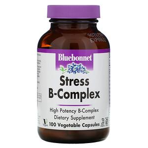 Блубоннэт Нутришен, Stress B-Complex, 100 Vegetable Capsules отзывы