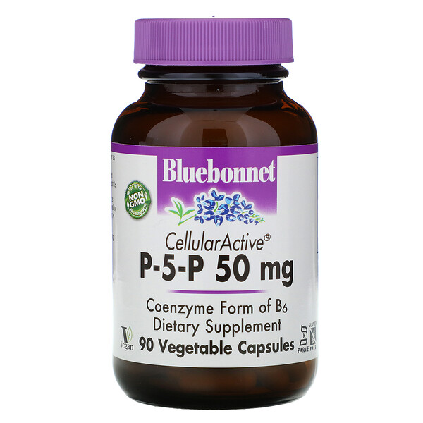 Bluebonnet Nutrition, P-5-P, 50 mg, 90 Vcaps