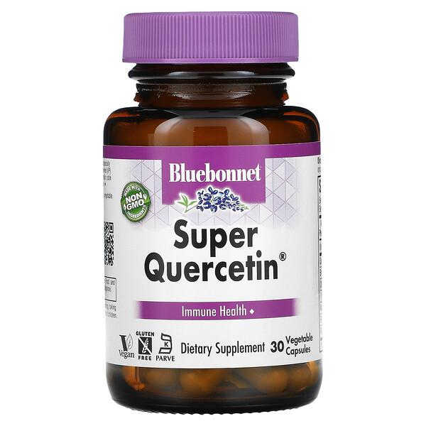 Bluebonnet Nutrition, Super Quercetin, 30 Vegetable Capsules