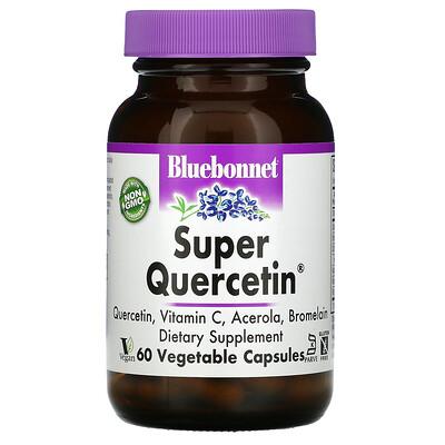 Bluebonnet Nutrition Super Quercetin, 60растительных капсул