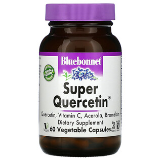 Bluebonnet Nutrition, Super 槲皮素,60 粒素食胶囊
