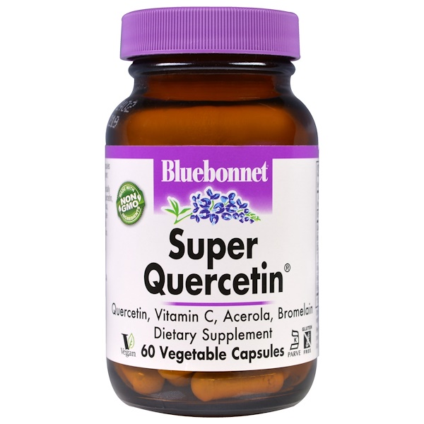 Bluebonnet Nutrition, Super Quercetin, 60 Veggie Caps