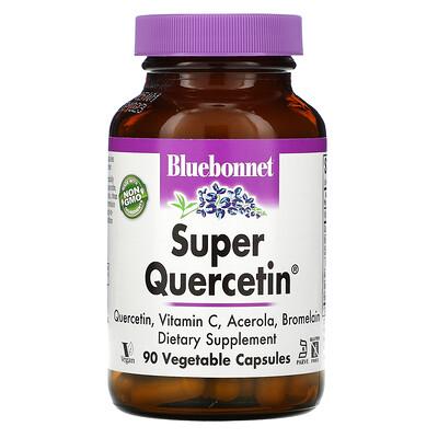 Купить Bluebonnet Nutrition Super Quercetin, 90растительных капсул