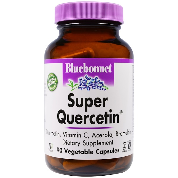 Bluebonnet Nutrition, Super Quercetin, 90 Veggie Caps