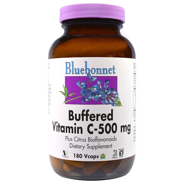 Buffered Vitamin C, 500 mg, 180 Vcaps