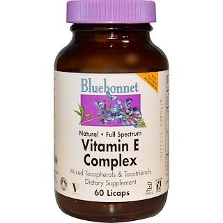 Bluebonnet Nutrition, Vitamin E Complex, 60 Licaps