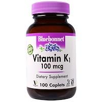 Витамин K1, 100 мкг, 100 капсулообразных таблеток - фото