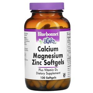 Блубоннэт Нутришен, Calcium Magnesium Zinc, 120 Softgels отзывы покупателей