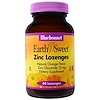 Bluebonnet Nutrition, EarthSweet, Zinc Lozenges, Natural Orange Flavor, 60 Lozenges