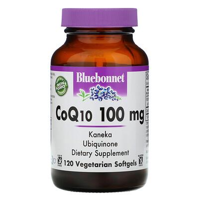 Купить Bluebonnet Nutrition CoQ10, 100 мг, 120 желатиновых капсул