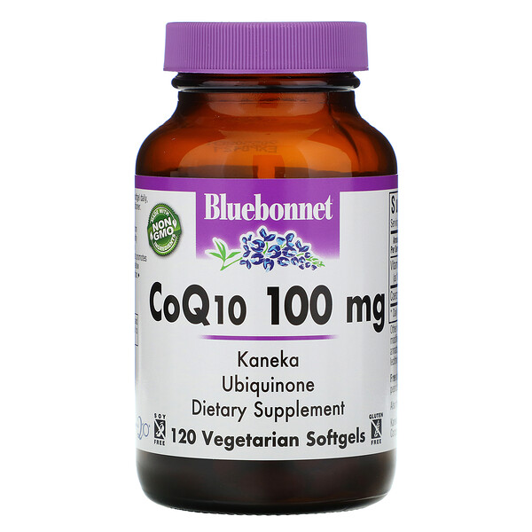 CoQ10, 100 mg, 120 Vegetarian Softgels