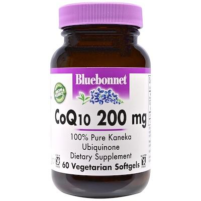 Фото - CoQ10, 200 мг, 60 желатиновых капсул high absorption coq10 with bioperine 100 мг 60 мягких желатиновых капсул