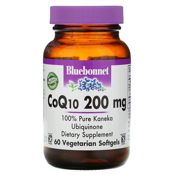 CoQ10, 200 mg, 60 Veggie Softgels