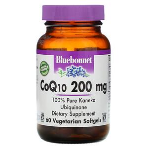 Блубоннэт Нутришен, CoQ10, 200 mg, 60 Veggie Softgels отзывы
