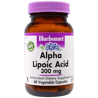 Bluebonnet Nutrition, Alpha Lipoic Acid, 300 mg, 60 Veggie Caps