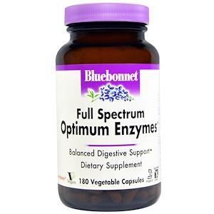 Блубоннэт Нутришен, Full Spectrum Optimum Enzymes, 180 Veggie Caps отзывы