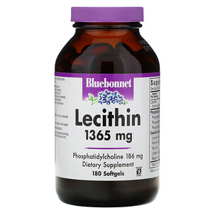 Блубоннэт Нутришен, Natural Lecithin, 1,365 mg, 180 Softgels отзывы покупателей