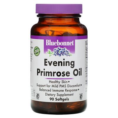 Bluebonnet Nutrition масло примулы вечерней, 1300 мг, 90 мягких желатиновых капсул