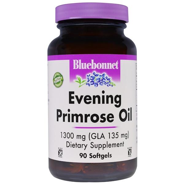 Масло примулы вечерней, 1300 мг, 90 желатиновых капсул