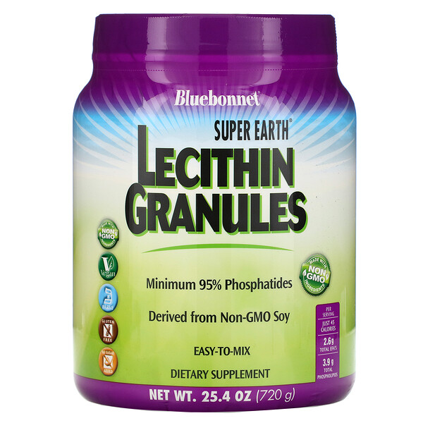 Super Earth, Lecithin Granules, 1.6 lbs (720 g)