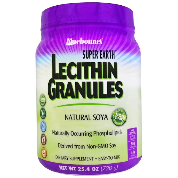 Bluebonnet Nutrition, Super Earth, Lecithin Granules, 1.6 lbs (720 g)