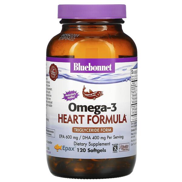 Omega-3 Heart Formula, 120 Softgels