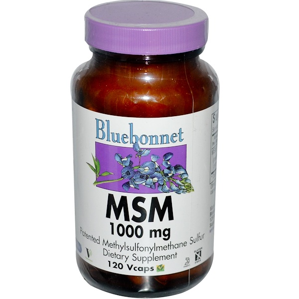 MSM, 1000 mg, 120 Vcaps