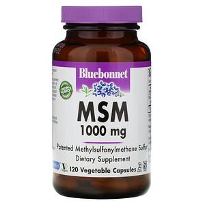 Блубоннэт Нутришен, MSM, 1000 mg, 120 Vcaps отзывы