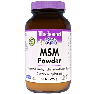 Bluebonnet Nutrition, MSM Powder, 8 oz (226 g)