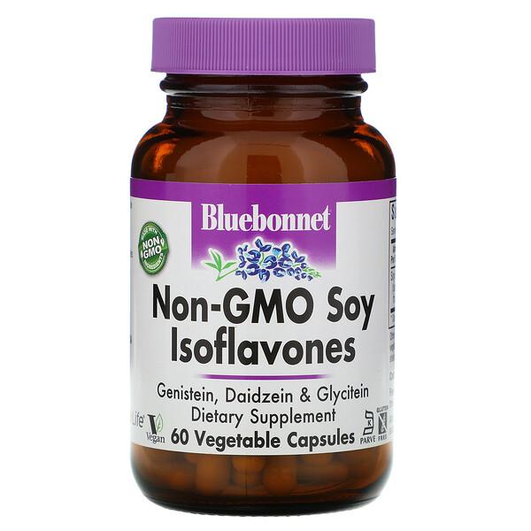 Изофлавоны сои без ГМО, 60 капсул на растительной основе