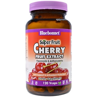 Bluebonnet Nutrition, Super Fruit, Cherry Fruit Extract, 120 Veggie Caps
