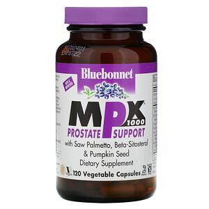 Блубоннэт Нутришен, MPX 1000, Prostate Support, 120 Vcaps отзывы