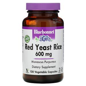 Блубоннэт Нутришен, Red Yeast Rice, 600 mg, 120 Vegetable Capsules отзывы