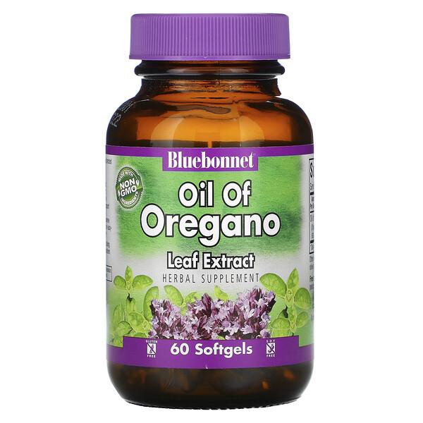 Aceite de Extracto de Hoja de Orégano, 60 Cápsulas Blandas