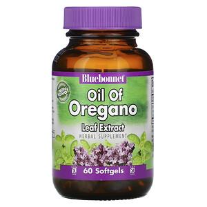 Блубоннэт Нутришен, Oil of Oregano Leaf Extract, 60 Softgels отзывы