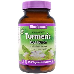 Блубоннэт Нутришен, Standardized Turmeric Root Extract, 120 Veggie Caps отзывы